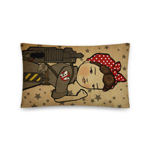 Load image into Gallery viewer, Rosie the Ghostbuster Pillow