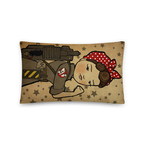 Rosie the Ghostbuster Pillow