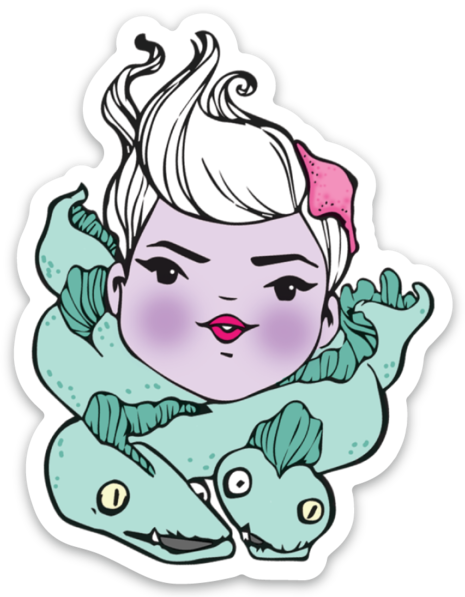 Ursula Sticker