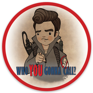 "Ghostbusters ""Who You Gonna Call?"" Sticker"
