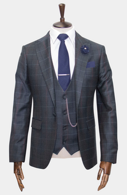 ANGLESEY 3 PIECE SUIT - MADE TO ORDER