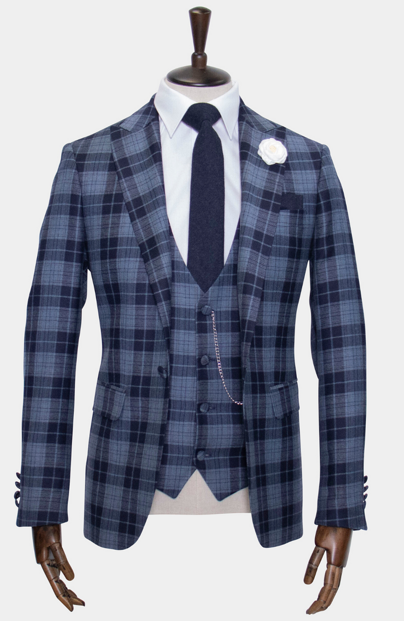 ISLE OF BUTE: 3 PIECE SUIT - MADE TO ORDER