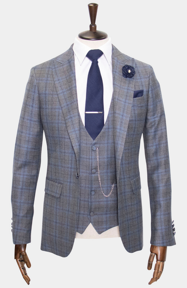 JERSEY 3 PIECE SUIT - MADE TO ORDER
