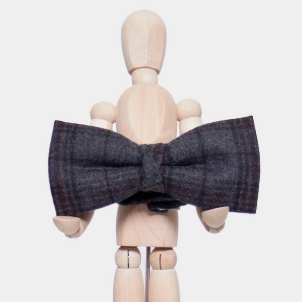 INISHEER CHECK BOW TIE - HIRE