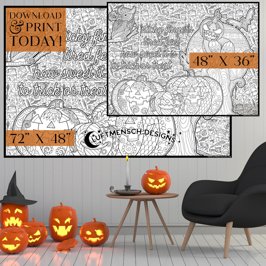 Printable Halloween Craft