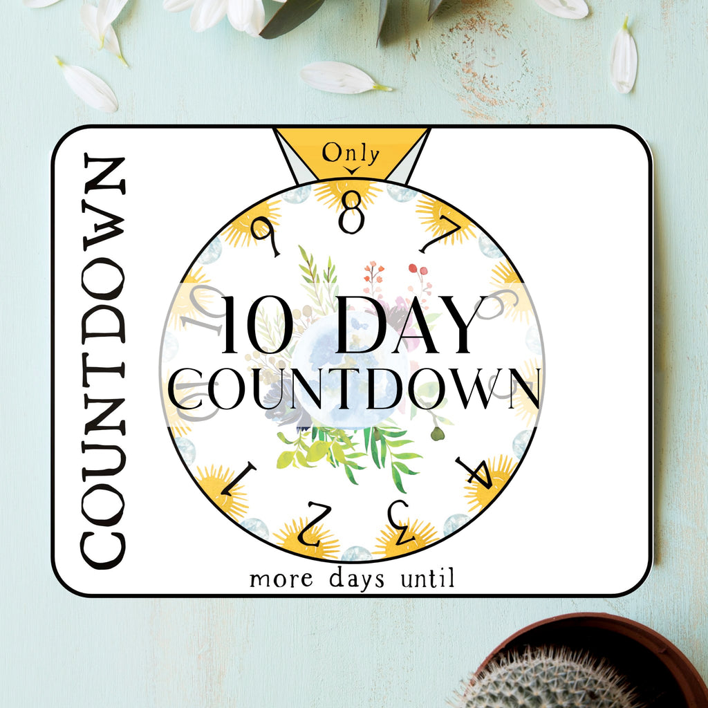 10 Day Countdown Tracker