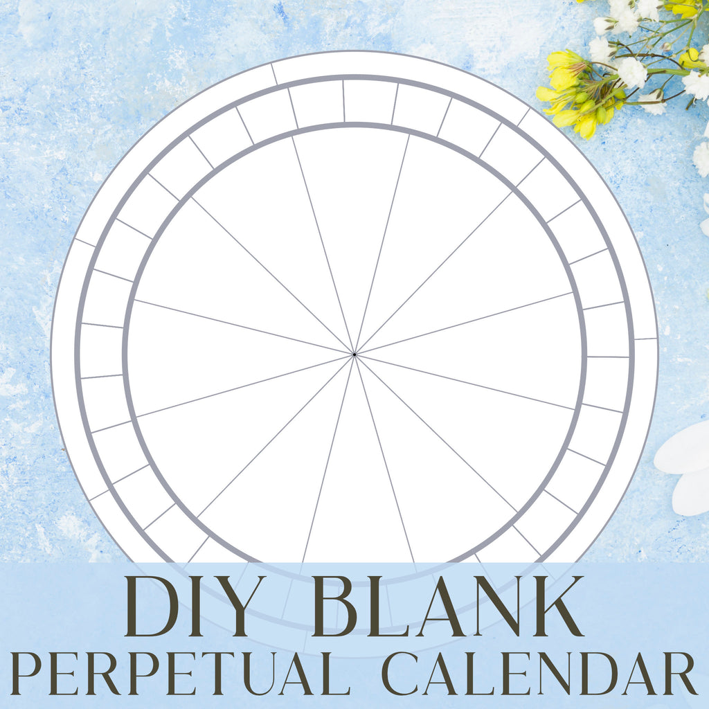 Blank Perpetual Calendar Download