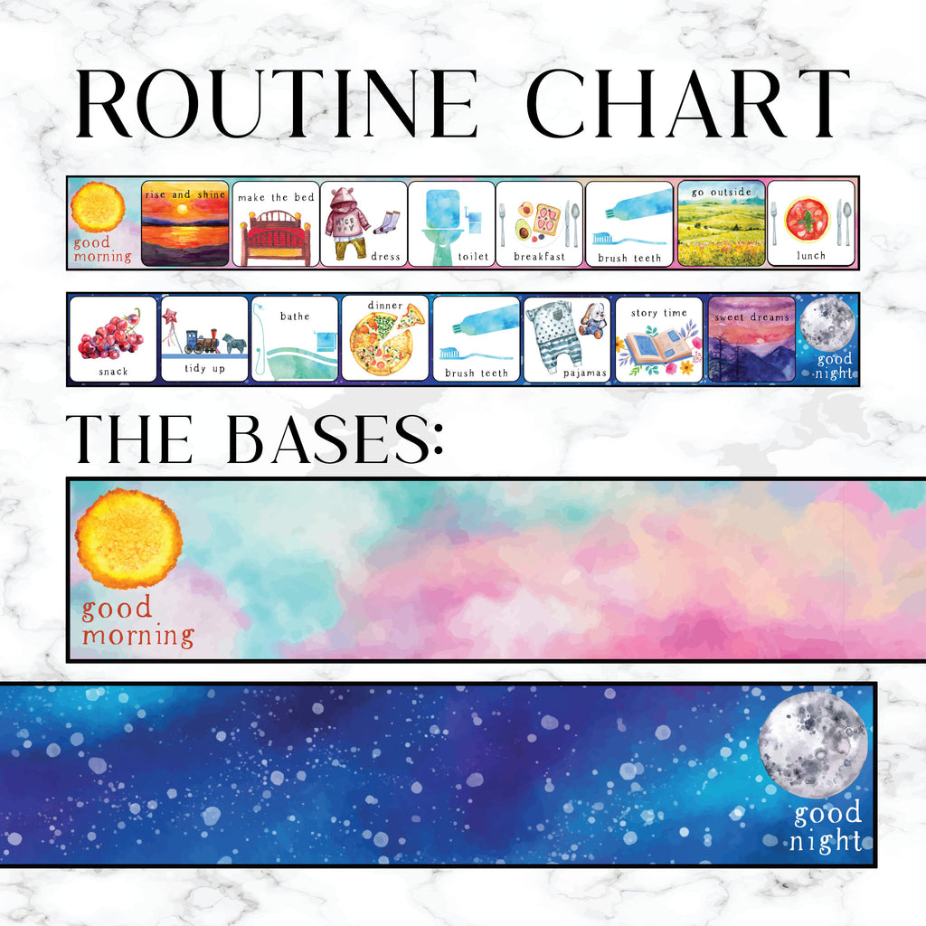 Daily routine chart printable