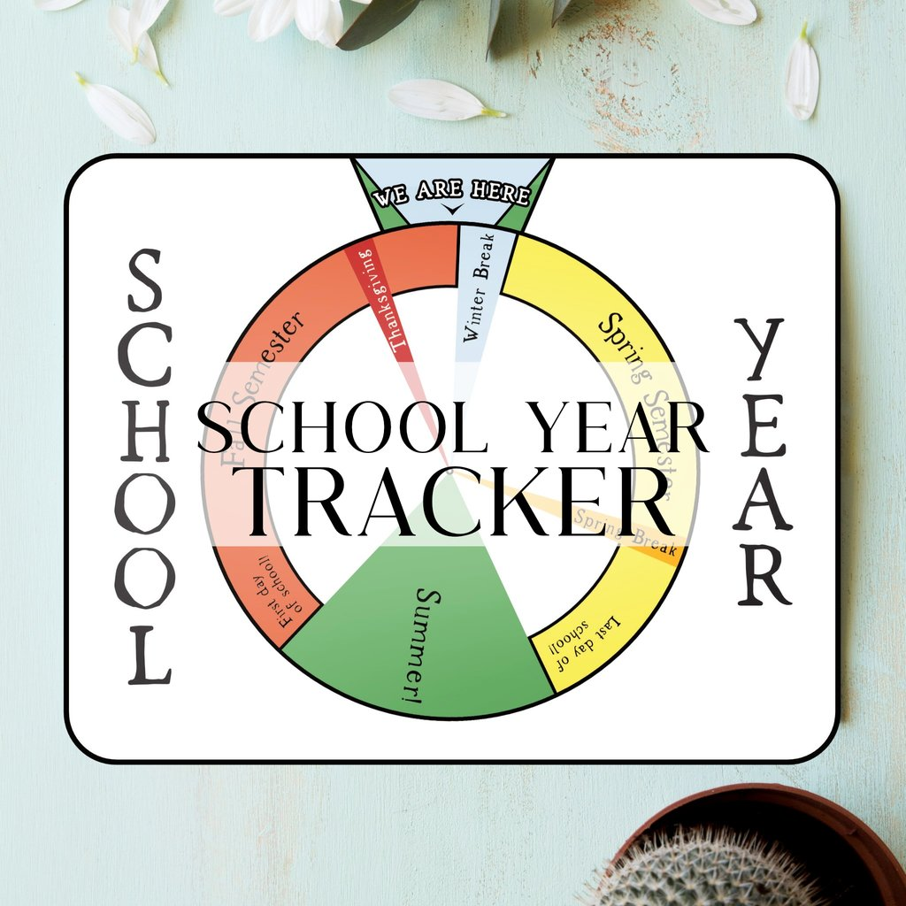 Visual Montessori School Year Tracker