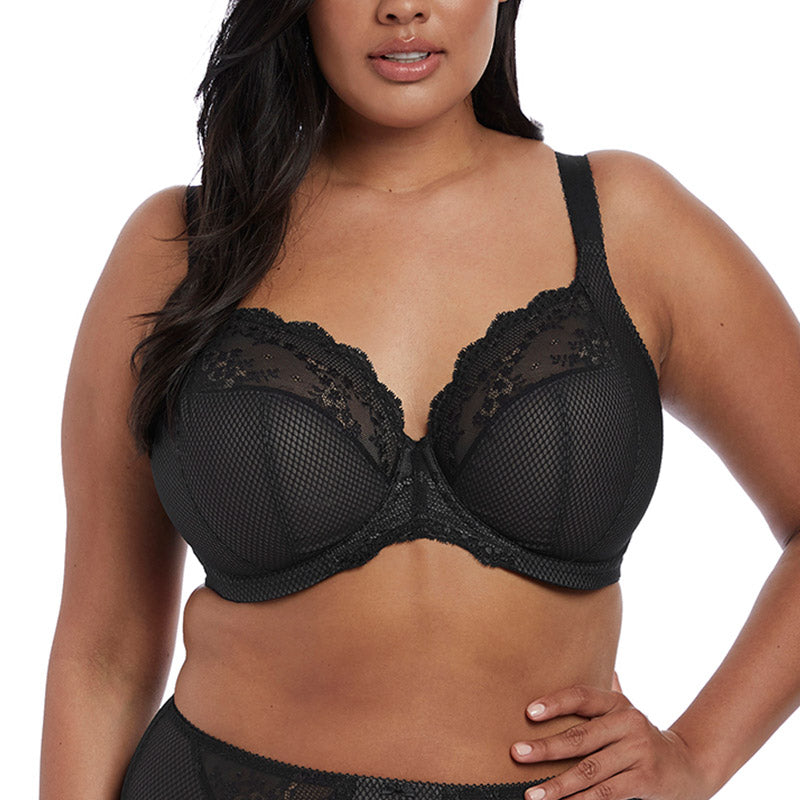 Charley Underwire Plunge Bra with Stretch Lace
