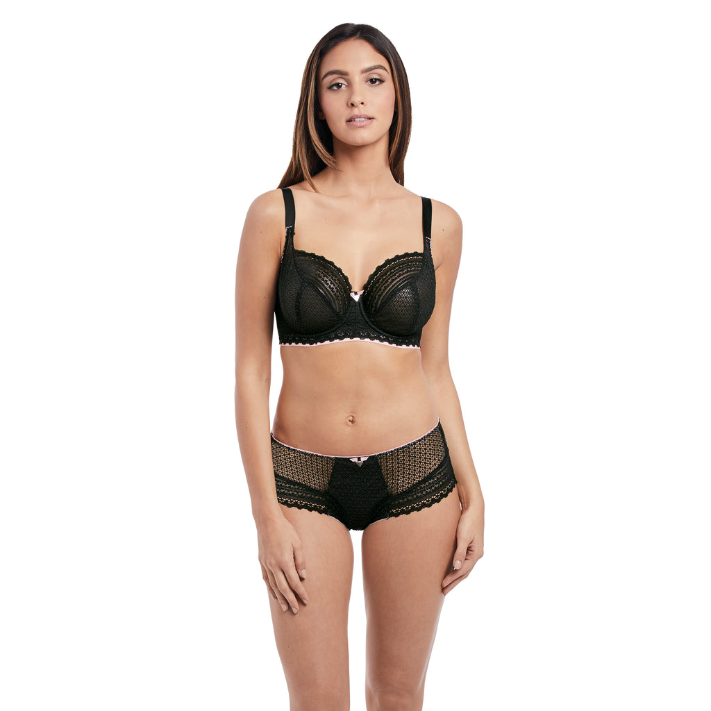 Daisy Lace Underwire Balcony Bra Up to K cup