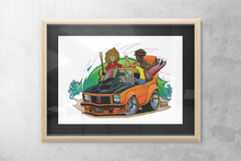Load image into Gallery viewer, Let's Go Print featuring Nostalgic Holden Torana - Gerard Kearney Art Australia