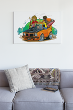 Load image into Gallery viewer, Let's Go Original Painting featuring Holden Torana - Gerard Kearney Art Australia