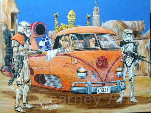 The Dudes We're Looking For Print - Gerard Kearney Art Australia