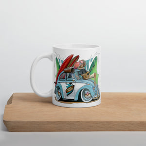 Some Like It Hot Mug - Gerard Kearney Art Australia