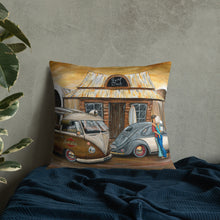 Load image into Gallery viewer, Surf Club Premium Pillow - Gerard Kearney Art Australia