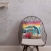 Load image into Gallery viewer, Let's Dance Premium Pillow - Gerard Kearney Art Australia