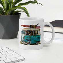 Load image into Gallery viewer, Surf Safari Mug - Gerard Kearney Art Australia