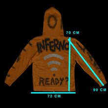 Load image into Gallery viewer, Hoodie Box INFERNO - SIZE L OVER