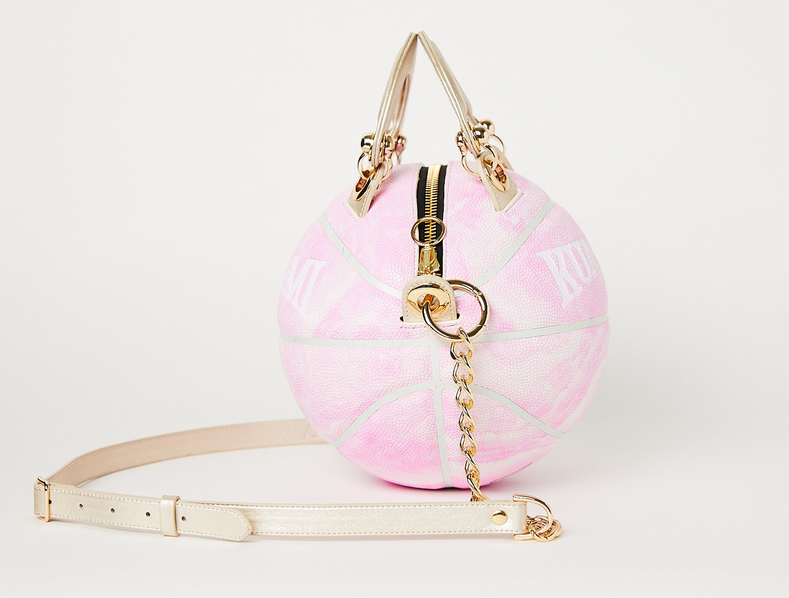 Light Pink Basketball Bag