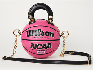 Hot Pink Wilson Basketball Bag