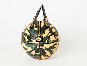 Camo Print Basketball Bag