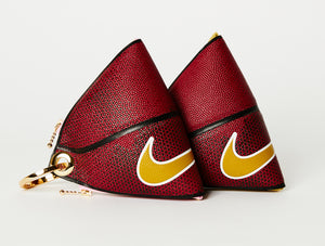 Clip~On Basketball Clutch (Red Nike Versa Tack)