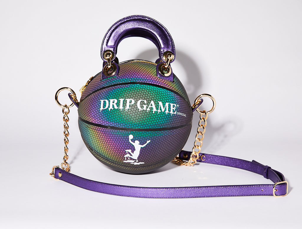 Holographic Basketball Bag