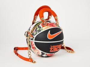 Floral Nike Versa Tack Basketball Bag