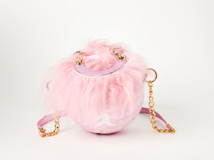 Baby Pink Kuangmi Basketball Bag