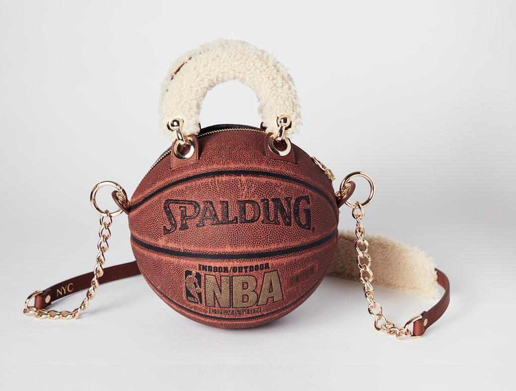 Vintage Spalding Basketball Bag