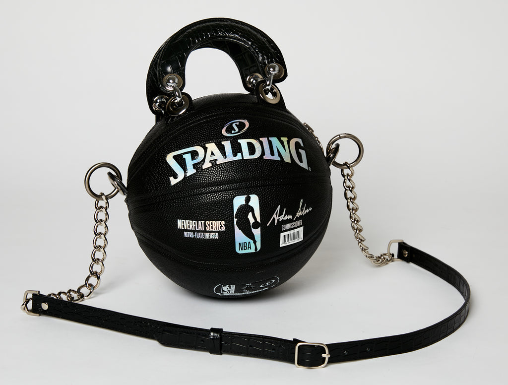 Holographic Spalding NBA NeverFlat Basketball Bag