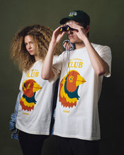 bird spotters club Tee - Off white