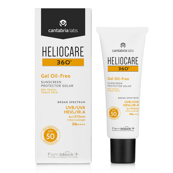 Heliocare 360 Gel Oil-Free SPF50