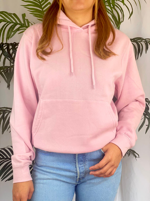Jacques Fleece Hoodie (blush)