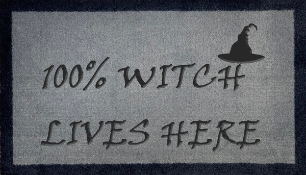 100% Witch Lives Here