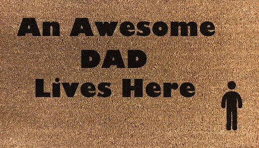 An Awesome Dad Lives Here