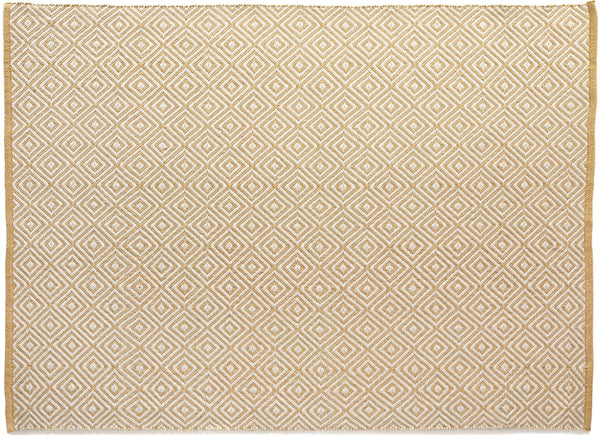 Hug Rug Diamond Gold - DoormatsOnline