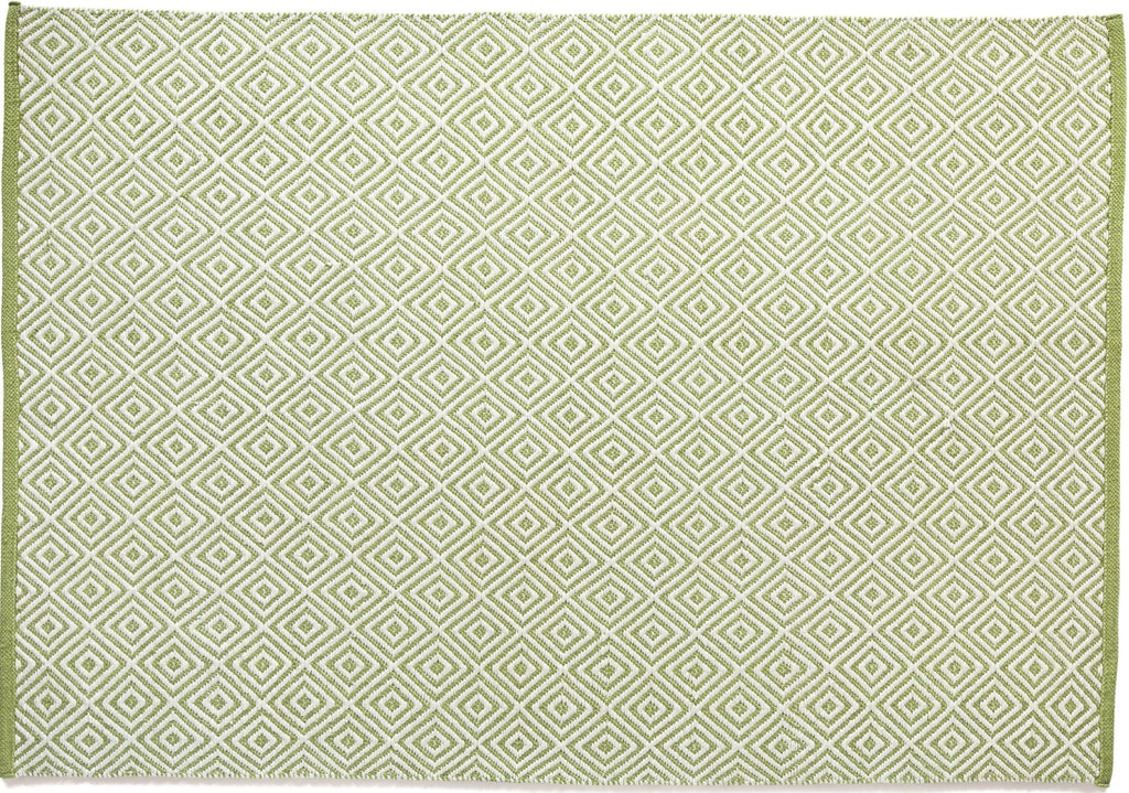 Hug Rug Diamond Green - DoormatsOnline