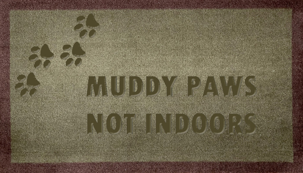 Muddy Paws Not Indoors (FR)