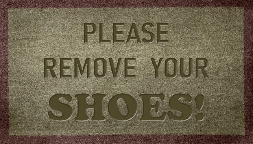Please Remove Your Shoes (FR)