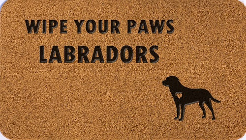 Wipe Your Paws Labradors