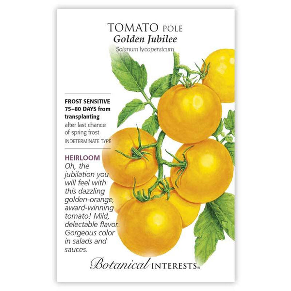 Tomato Pole 'Golden Jubilee'