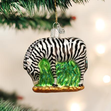 Ornament: Zebra