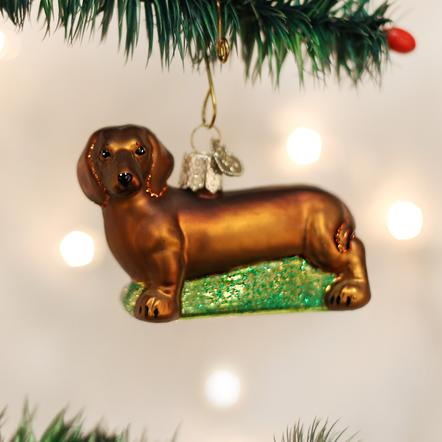 Ornament: Dachshund