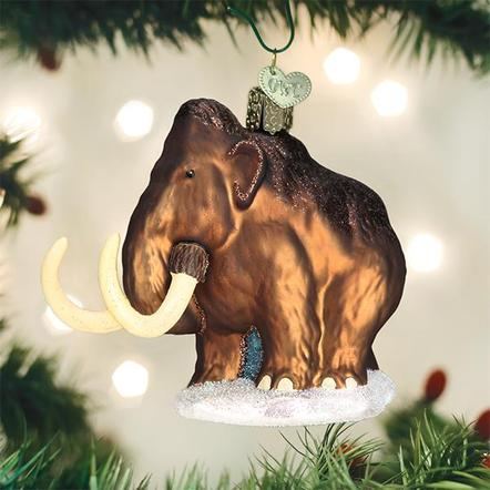 Ornament: Woolly Mammoth