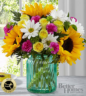 FTD Sunlit Meadows Bouquet by Better Homes and Gardens