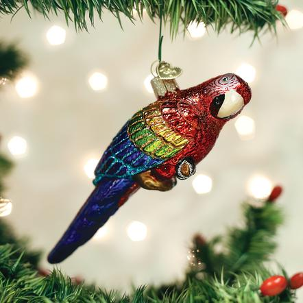 Ornament: Tropical Parrot