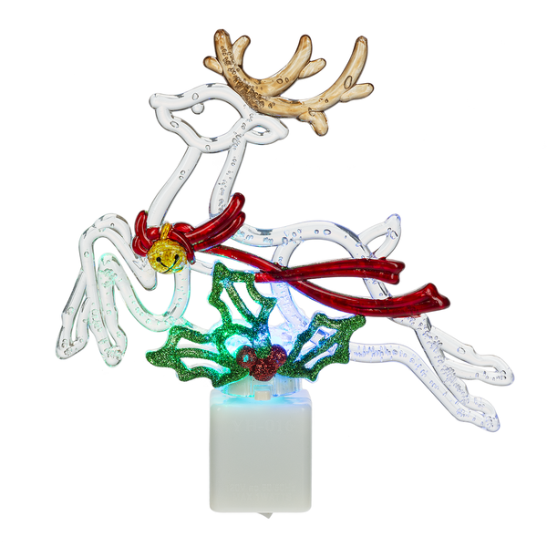 LED Night Light: Reindeer