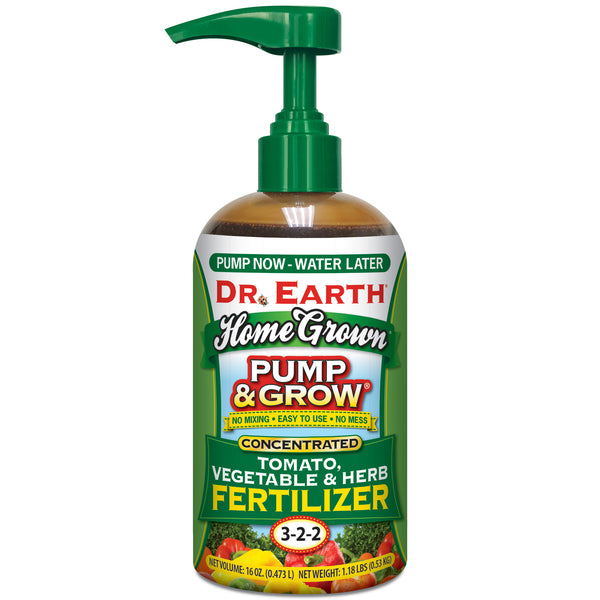 Dr Earth Pump & Grow Tomato & Vegetable Fertilizer
